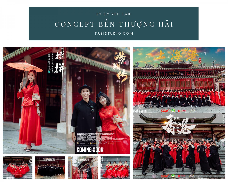 Concept Bến Thượng Hải - Kỷ yếu Tabi